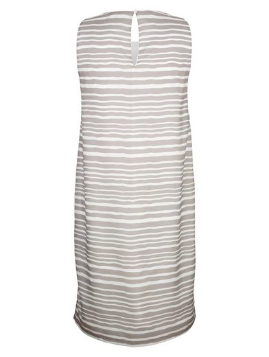 Alba Moda Druckkleid in angesagtem Streifendessin