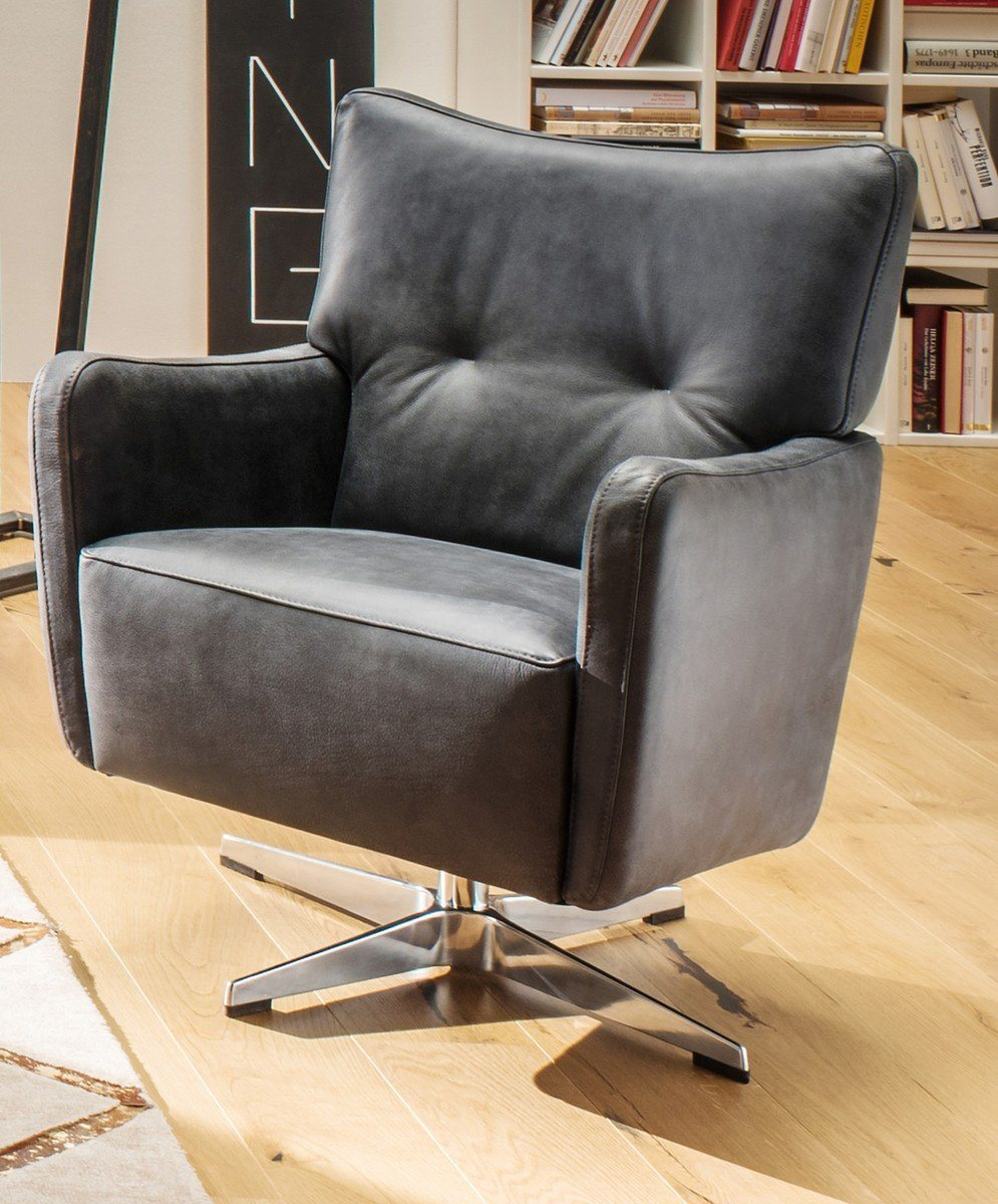 Kasper Wohndesign: 33% Sparen - Kasper Drehsessel ALINE - Nur 799€