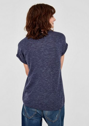 s.Oliver RED LABEL Blusenshirt mit Minimalmuster