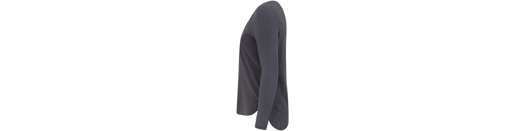Emilia Lay Klassische Bluse aus Seide, Kellerfalte