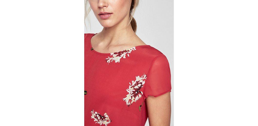 s.Oliver BLACK LABEL Bedrucktes Shirt im Lagen-Look Bilder Kostenloser Versand Shop PSusgo