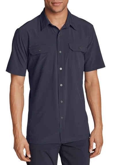 Hemd Compass SS Shirt Marineblau Bekleidung