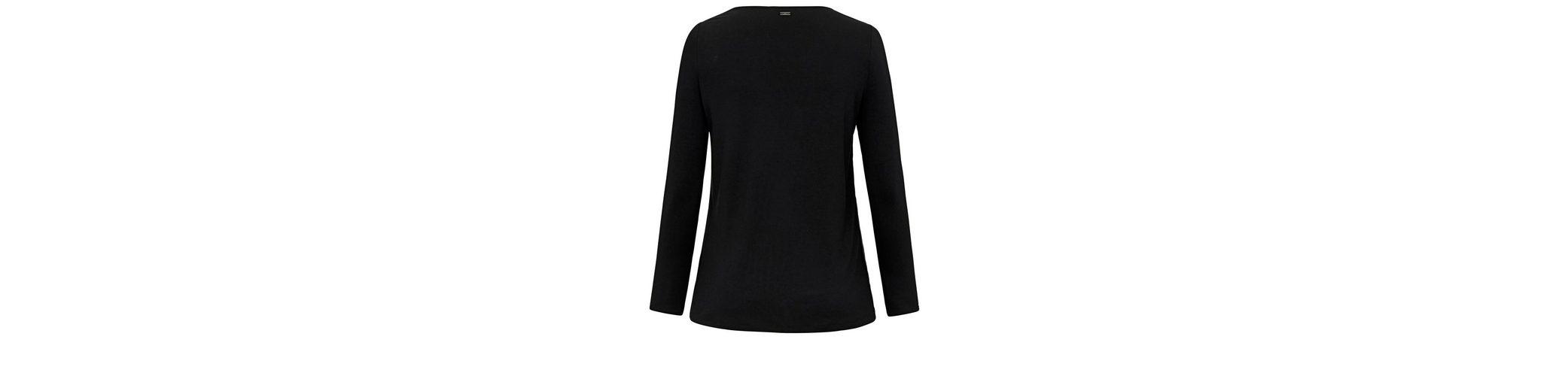 Emilia Lay T-Shirt mit Rundhalsausschnitt, Layering-Optik