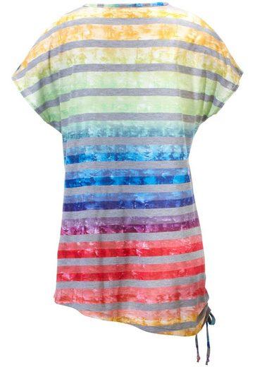 Anna Aura T-Shirt mit 1/2-Arm, Tunnelzug am Saum