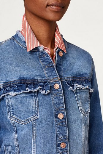 EDC BY ESPRIT Lässig-feminine Jeans-Jacke