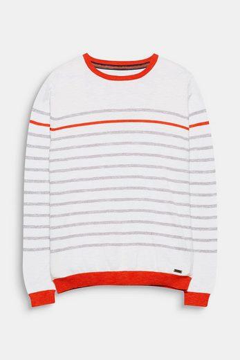 EDC BY ESPRIT Sweater mit knalligen Akzenten