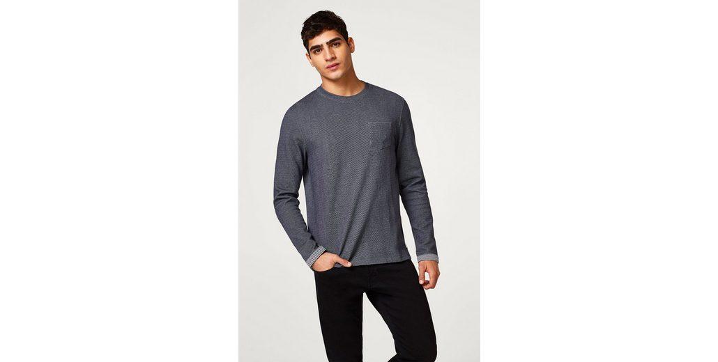 EDC BY ESPRIT Meliertes Sweater aus Baumwoll-Mix Günstige Austrittsstellen Ja Wirklich Günstiger Versand Original Die Kostenlose Versand Hochwertiger AdwBoztfbp