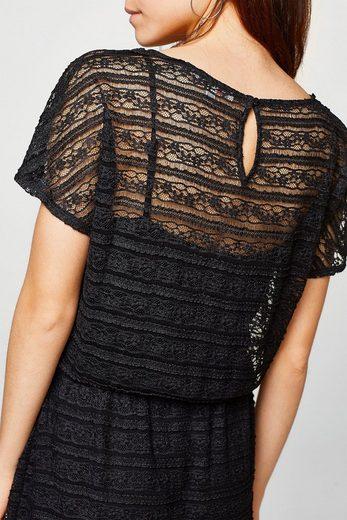 ESPRIT Kleid aus Spitze mit Jerseyfutter