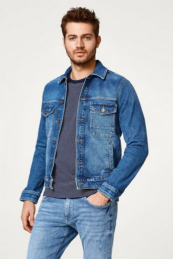 ESPRIT Denim-Jacke aus Recycled Cotton