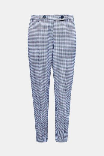 Esprit Shortened Stretch Chino With Caro Pattern
