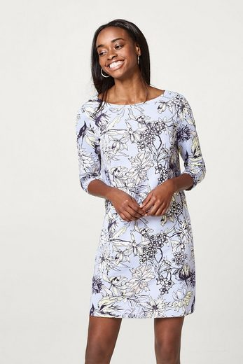 EDC BY ESPRIT Flower Sweatkleid aus Baumwolle