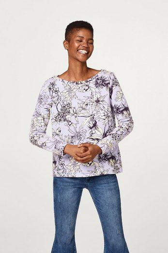 Edc By Esprit Print Pullover, 100% Cotton
