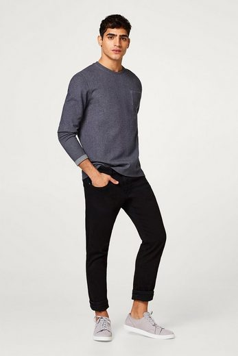 EDC BY ESPRIT Meliertes Sweater aus Baumwoll-Mix