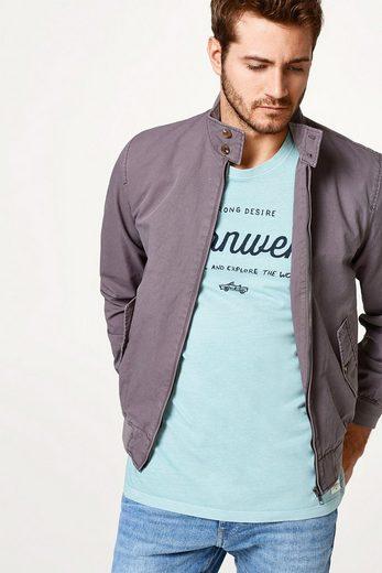 ESPRIT Jersey-Shirt im verwaschenen Look