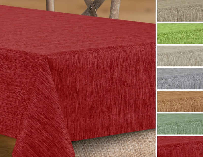 Beautex Tischdecke »Wachstuchtischdecke rund oval eckig, Georginias Wachstuch Tischdecke, Farbe und Größe wählbar« (1-tlg)
