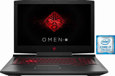 OMEN by HP 17-an052ng Gaming-Notebook (43,9 cm/17,3 Zoll, Intel Core i7, GeForce, 2000 GB HDD, 256 GB SSD)