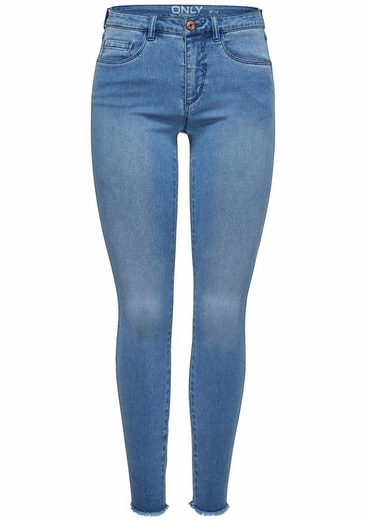 Only Skinny-fit-Jeans ROYAL, Ausgefranste Säume