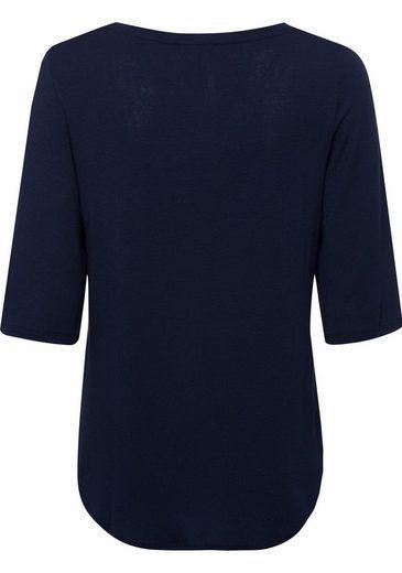 ESPRIT 3/4-Arm-Shirt, mit ausgestellten 3/4-Ärmeln
