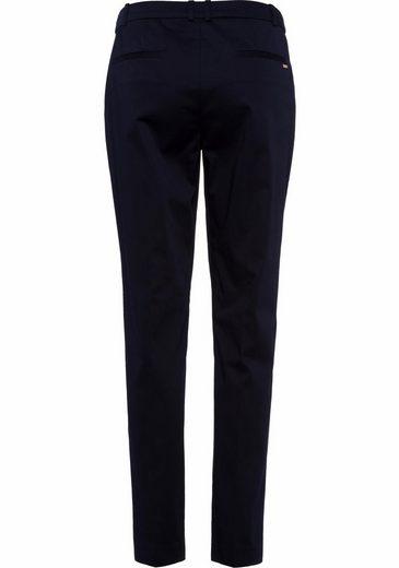 ESPRIT Collection Anzughose, mit metallischem Markenlabeling