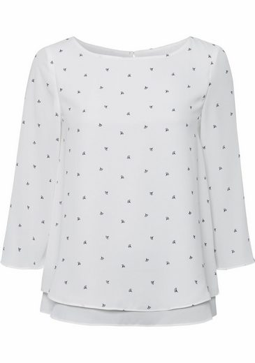 ESPRIT Collection Shirtbluse, mit Alloverprint