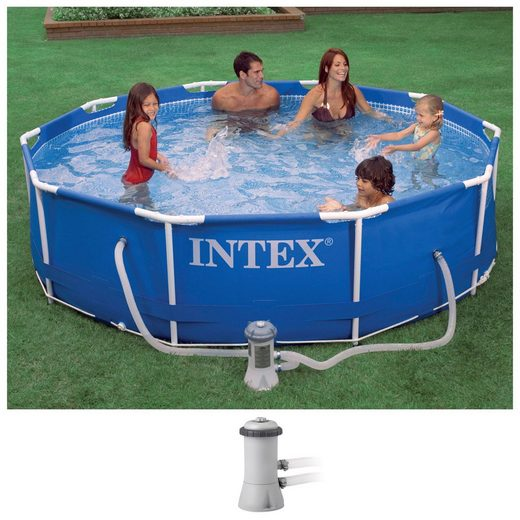 Intex Rundpool »Metal Frame«, ØxH: 305x76 cm