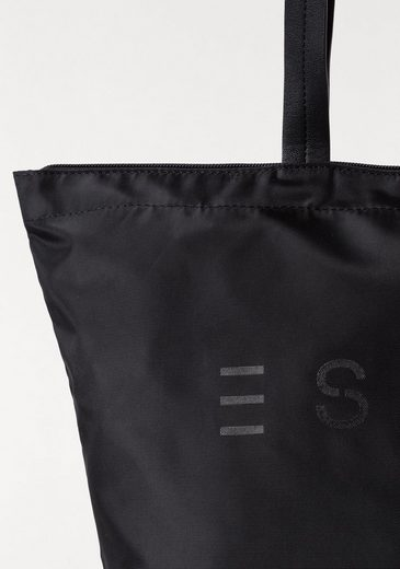 ESPRIT Shopper, mit auffälligem Logoprint