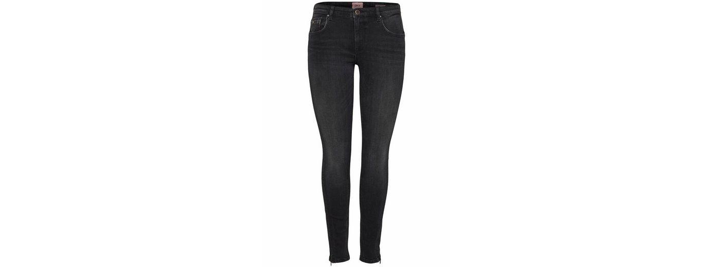 Only Skinny-fit-Jeans DYLAN, mit Zipper an den Fesseln