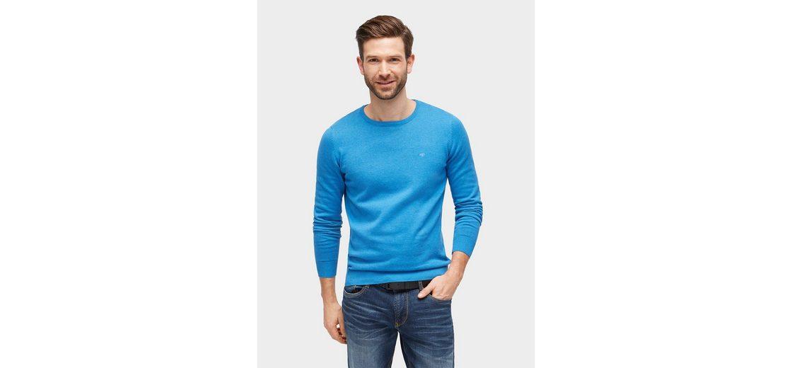 Tom Tailor Strickpullover Basic Pullover Billig Beste Preise Kosten Verkauf Online Preise Billig Verkauf Neuesten Kollektionen vdjKJ2c