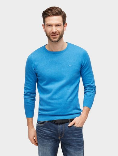 Tom Tailor Strickpullover Basic Pullover