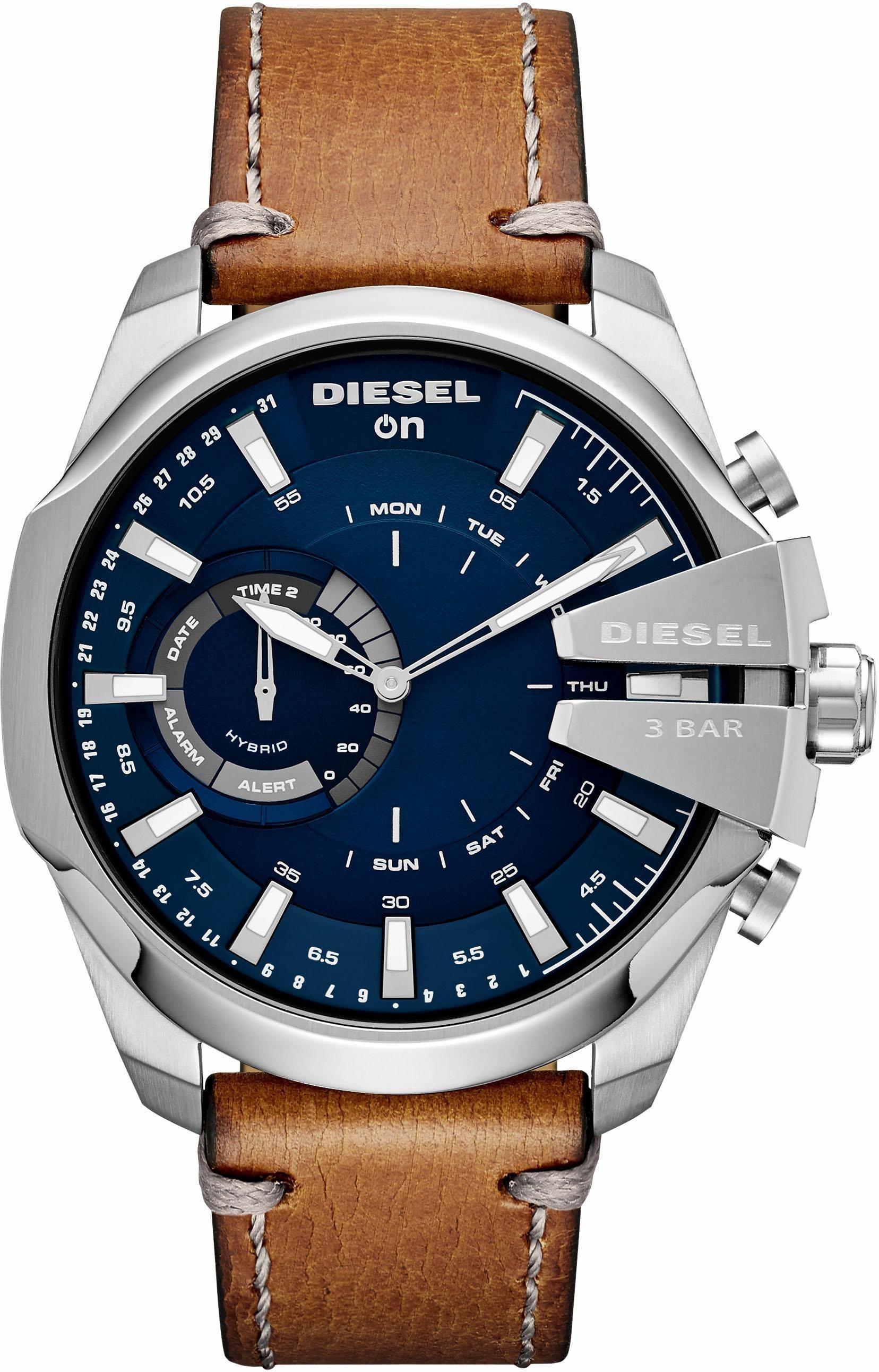 Herren DIESEL ON MEGACHIEF, DZT1009 Smartwatch (Android Wear) braun | 04053858924109