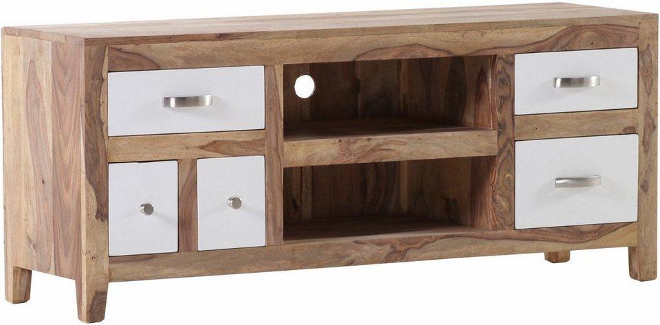 gutmann factory lowboard vienna mit 5 schubladen und 2 ablagef chern breite 135 cm online. Black Bedroom Furniture Sets. Home Design Ideas