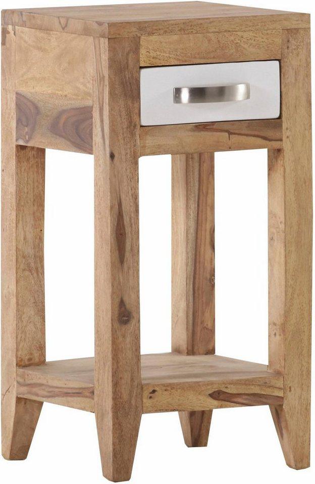 gutmann factory beistelltisch vienna mit 1 schublade. Black Bedroom Furniture Sets. Home Design Ideas