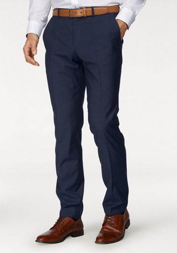 Herren Roy Robson Baukastenhose Slim Fit- Form blau | 04036078717706
