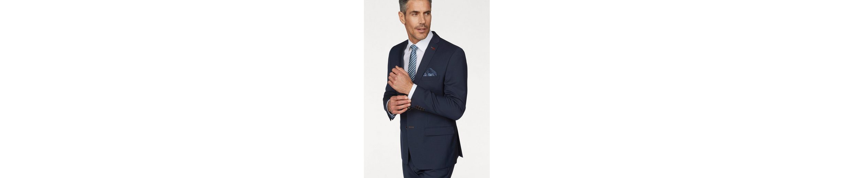 Roy Robson Anzug Slim fit, Slim Fit- Form, mit sehr feinem Strukturmuster