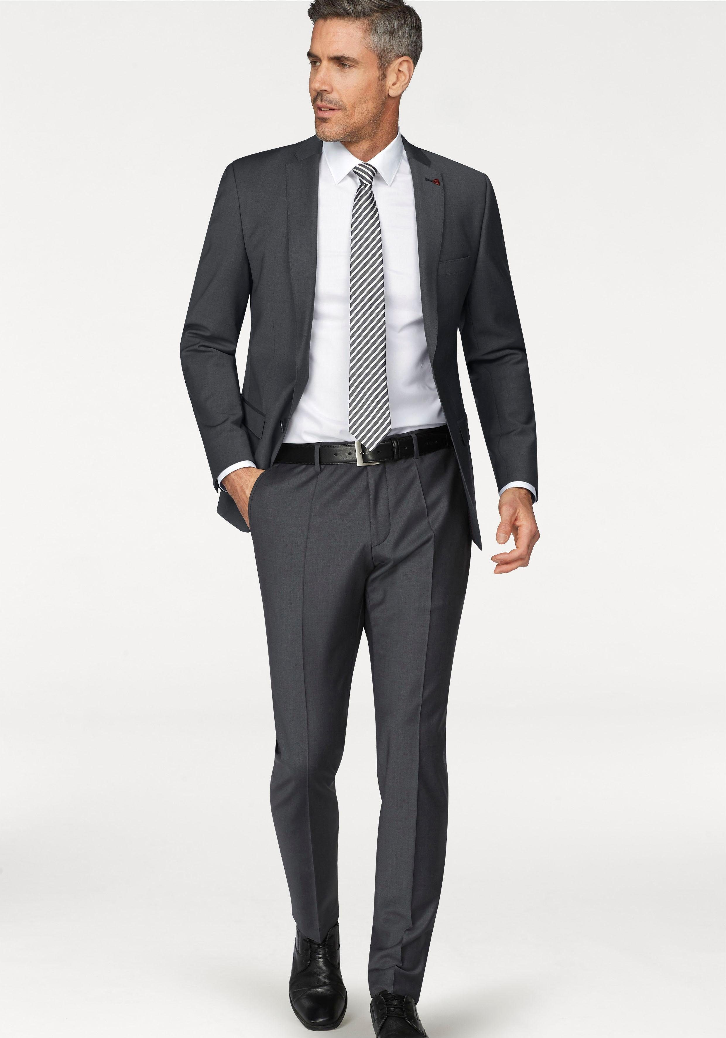 Roy Robson Herren Slim Anzug