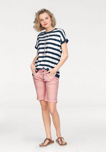 alife and kickin T-Shirt SUNNY, im lässigen Streifen-Design