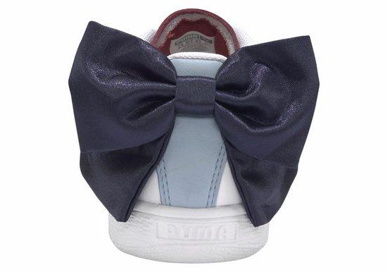 Puma Sneaker Wn´s« »basket New Bow Sch Weiß blau y0wOvm8nN