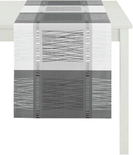 APELT Tischläufer »COMO, LOFT STYLE, Jacquard« (1-tlg)