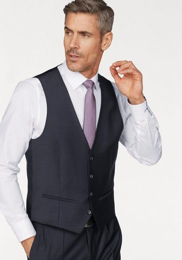 Roy Robson Anzugweste Slim Fit- Form, passende Weste zum Anzug Art.3974 9132