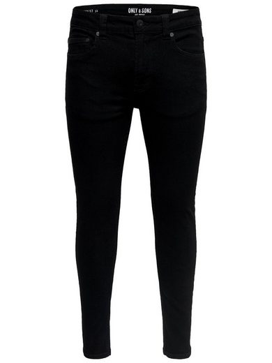 ONLY & SONS Warp black Slim Fit Jeans