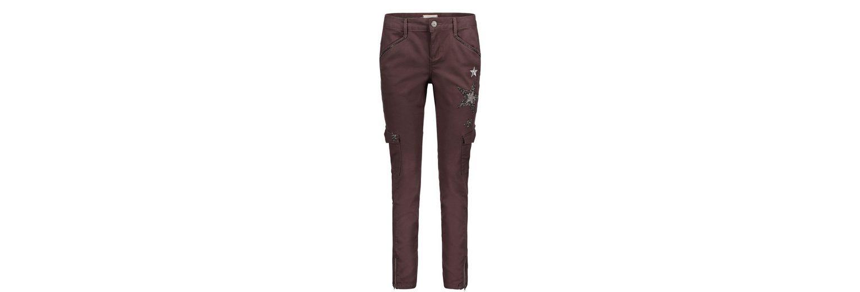 Cartoon Jeans mit Sternenapplikationen Rabatt Bester Großhandel g4xFhnid9m