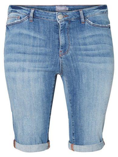 JUNAROSE Lange Denim Shorts