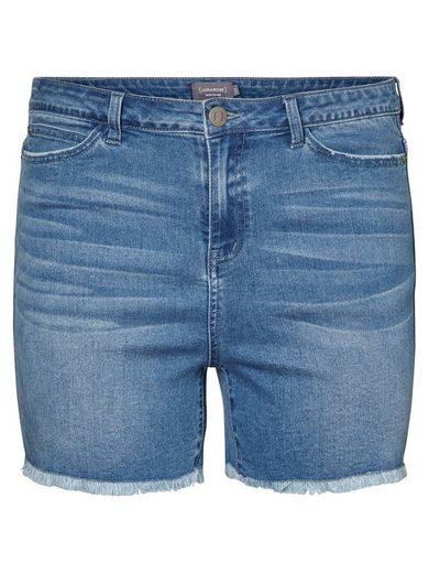 JUNAROSE High Waist Denim Shorts