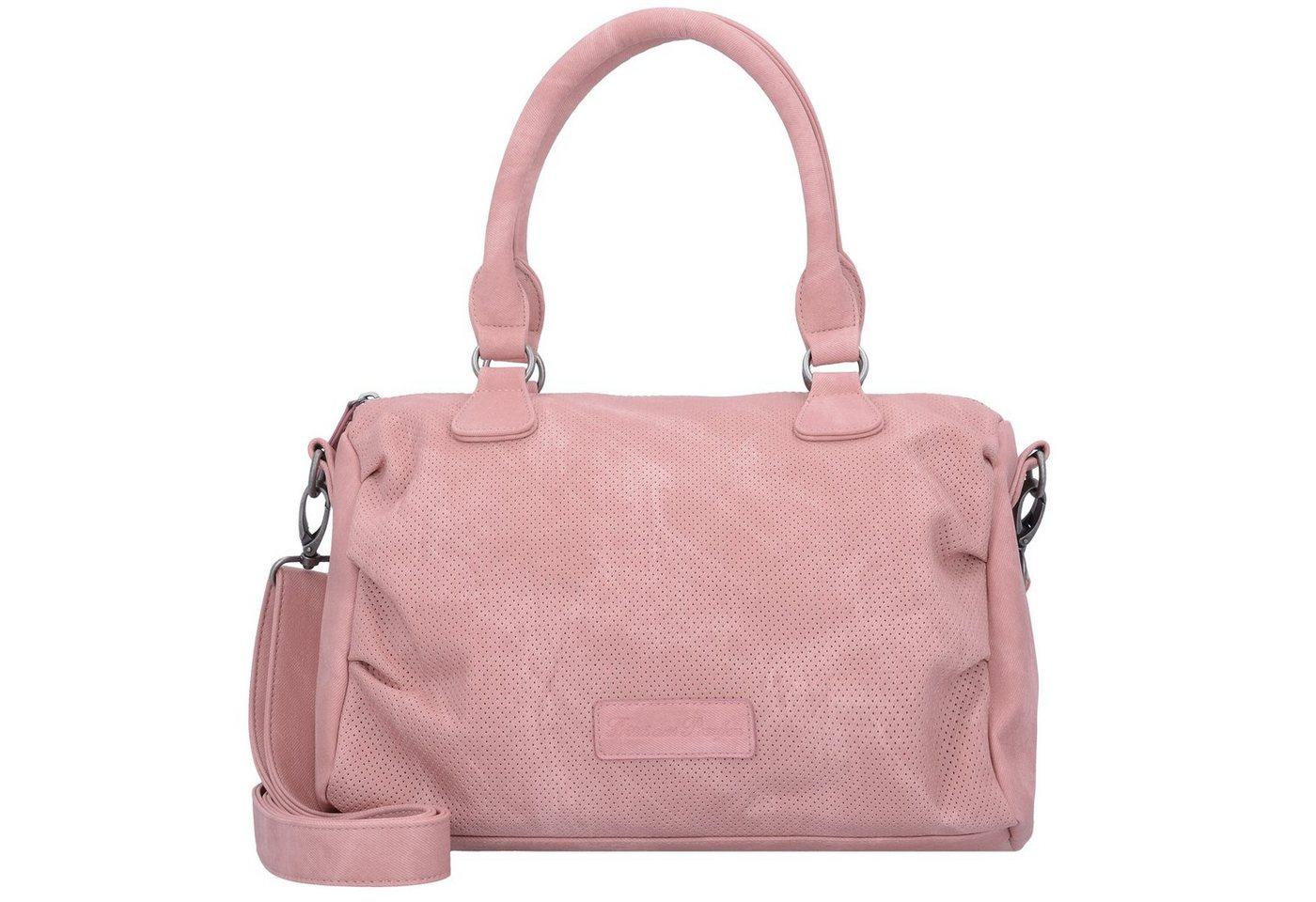 Damen Fritzi aus Preußen Bags Gitte Handtasche 33 cm rosa | 04059065085107
