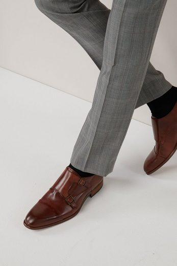 Next Slim Fit Anzug mit Karomuster: Hose