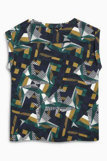 Next T-Shirt mit Kastenschnitt