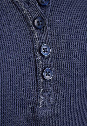 Next Strukturiertes Langarmshirt
