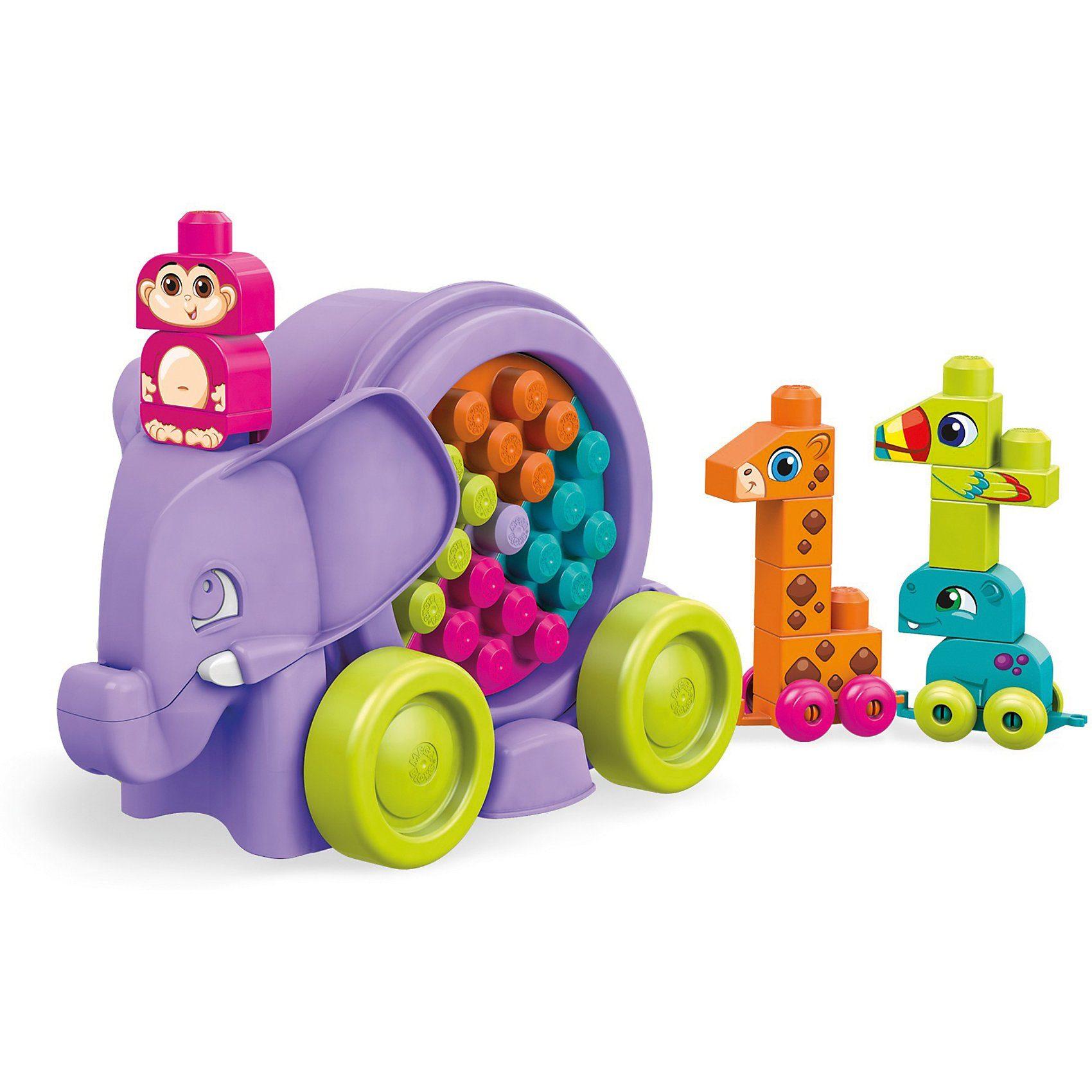 Mattel® Mega Bloks Lustige Elefantenparade (lila)