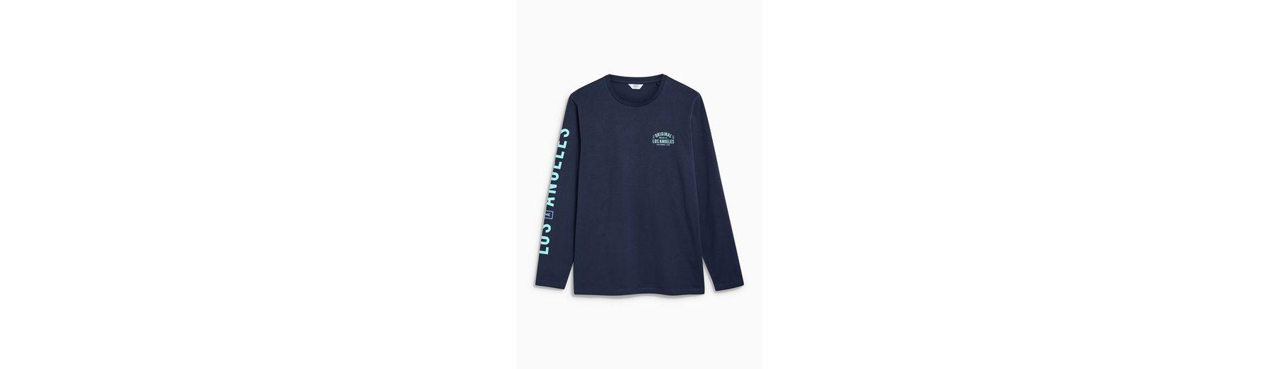 Next Langarm-T-Shirt mit Aufdruck Bester Ort Viele Arten Von Zum Verkauf Beste Wahl  Online-Verkauf BK2oGA2q