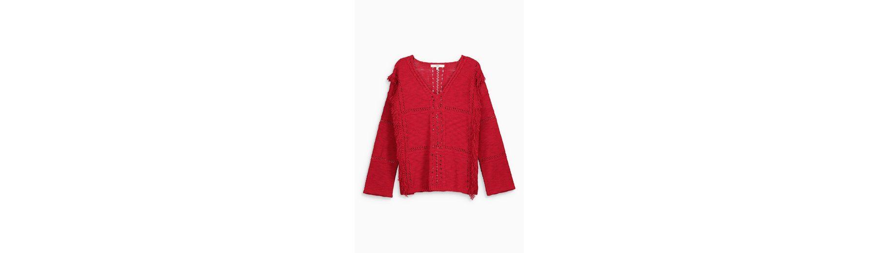 Next Pullover mit V-Ausschnitt und Fransen Freiraum Für Verkauf 7Rcvd4TUY
